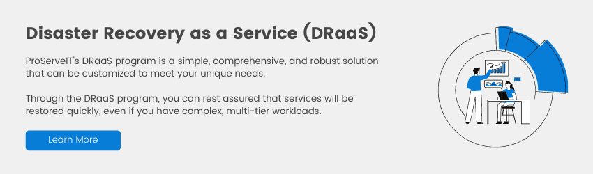 Disaster Recovery DRaas