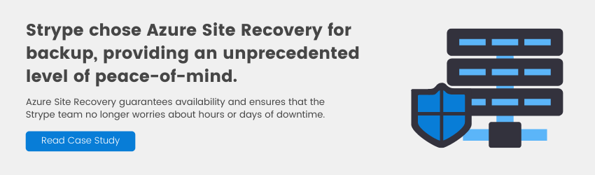 Azure Site Recovery Case Study