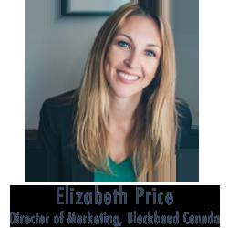 Elizabeth Price, Blackbaud Canada