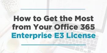 Enterprise-E3-License