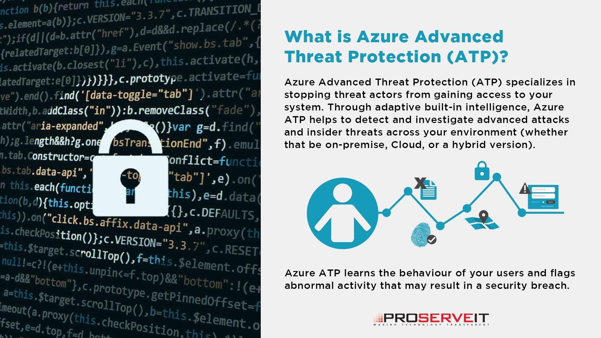 Azure ATP Security