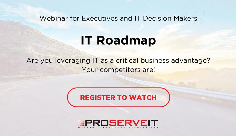 IT Roadmap Webinar Invitation