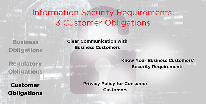 Customer Obligations for Your Security Requirements
