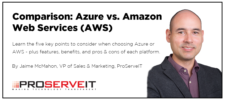 Azure vs AWS comparison