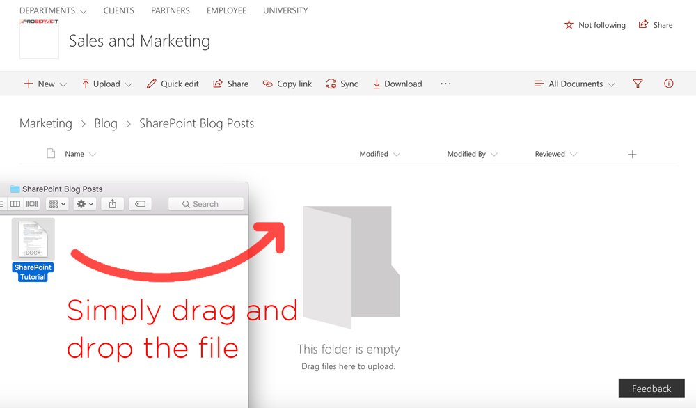 SharePoint  How to Upload Files