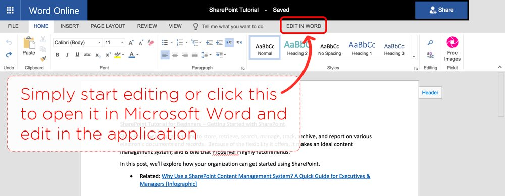 SharePoint Tutorial Tip: Opening Documents