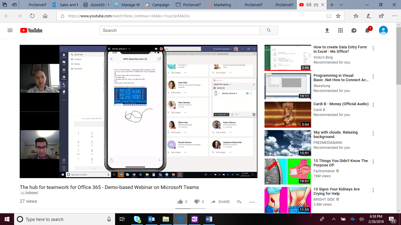 microsoft teams demo