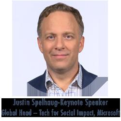Justin Spelhaug, Global Head – Tech for Social Impact, Microsoft
