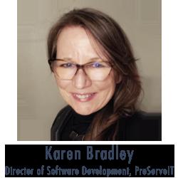 Karen Bradley, Director of Software Development