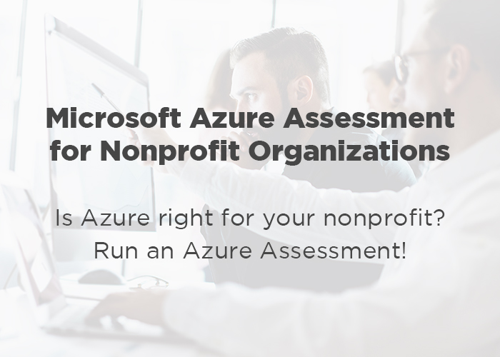 Azure Assessment for Nonprofits