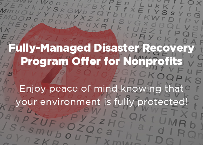 DRaaS Offer for Nonprofits