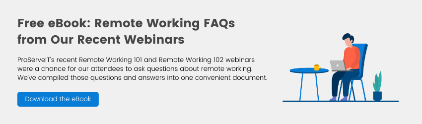 Remote Working FAQ eBook