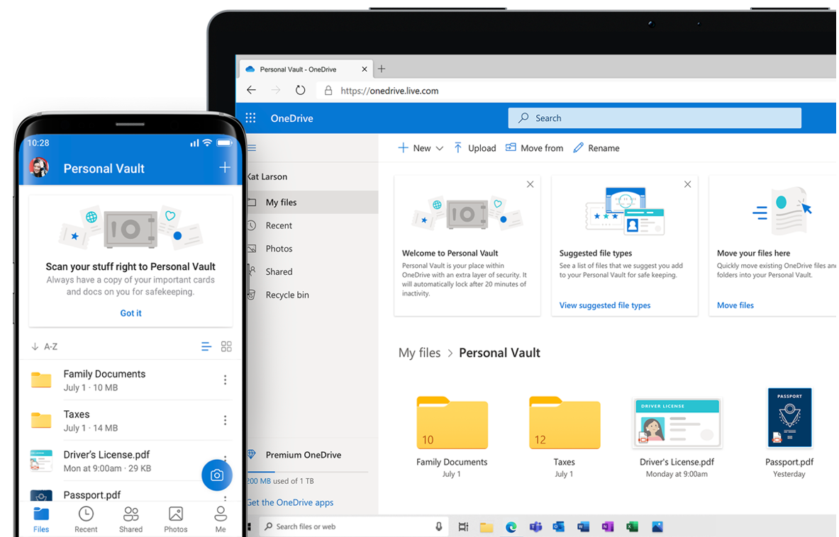 Office 365 Apps & Services: What They Are & When to Use Them - onedrive-b