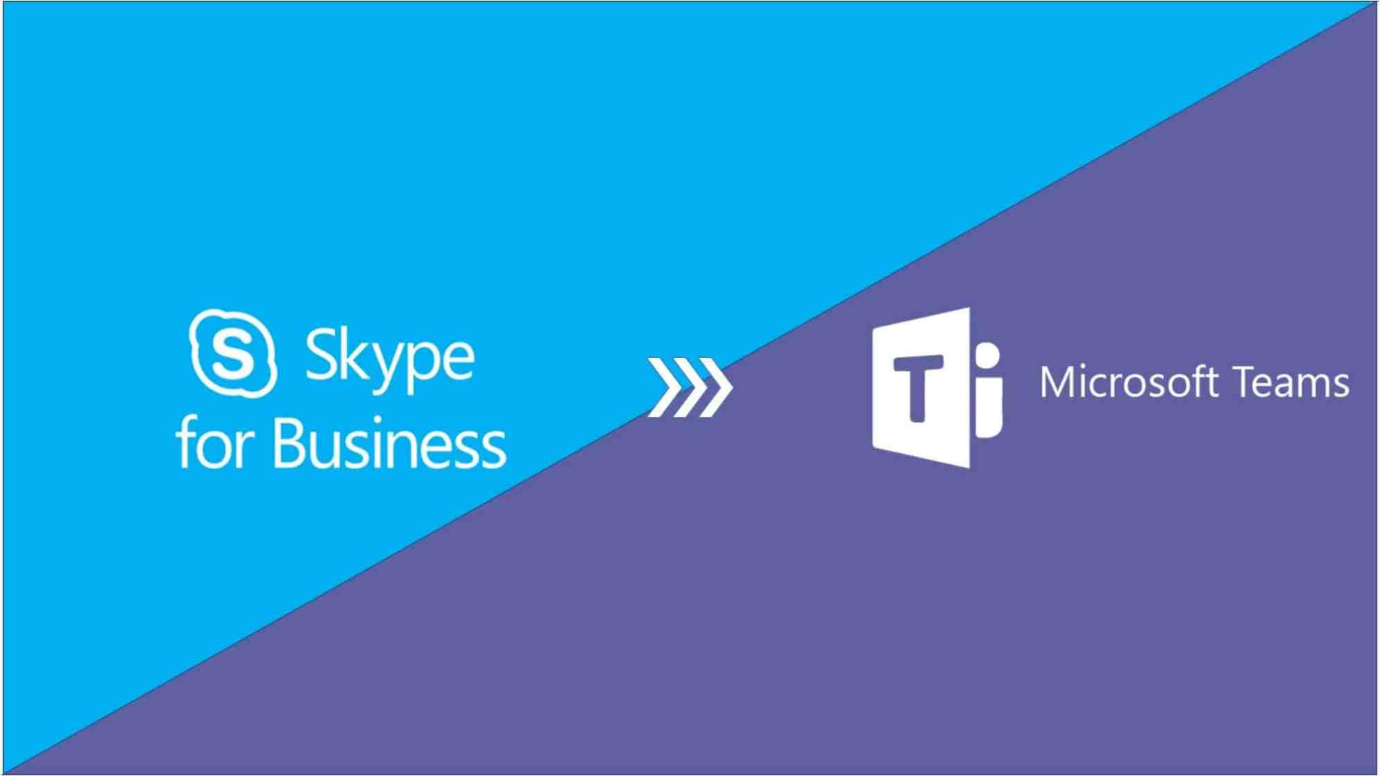 the future of skype for business moving to teams
