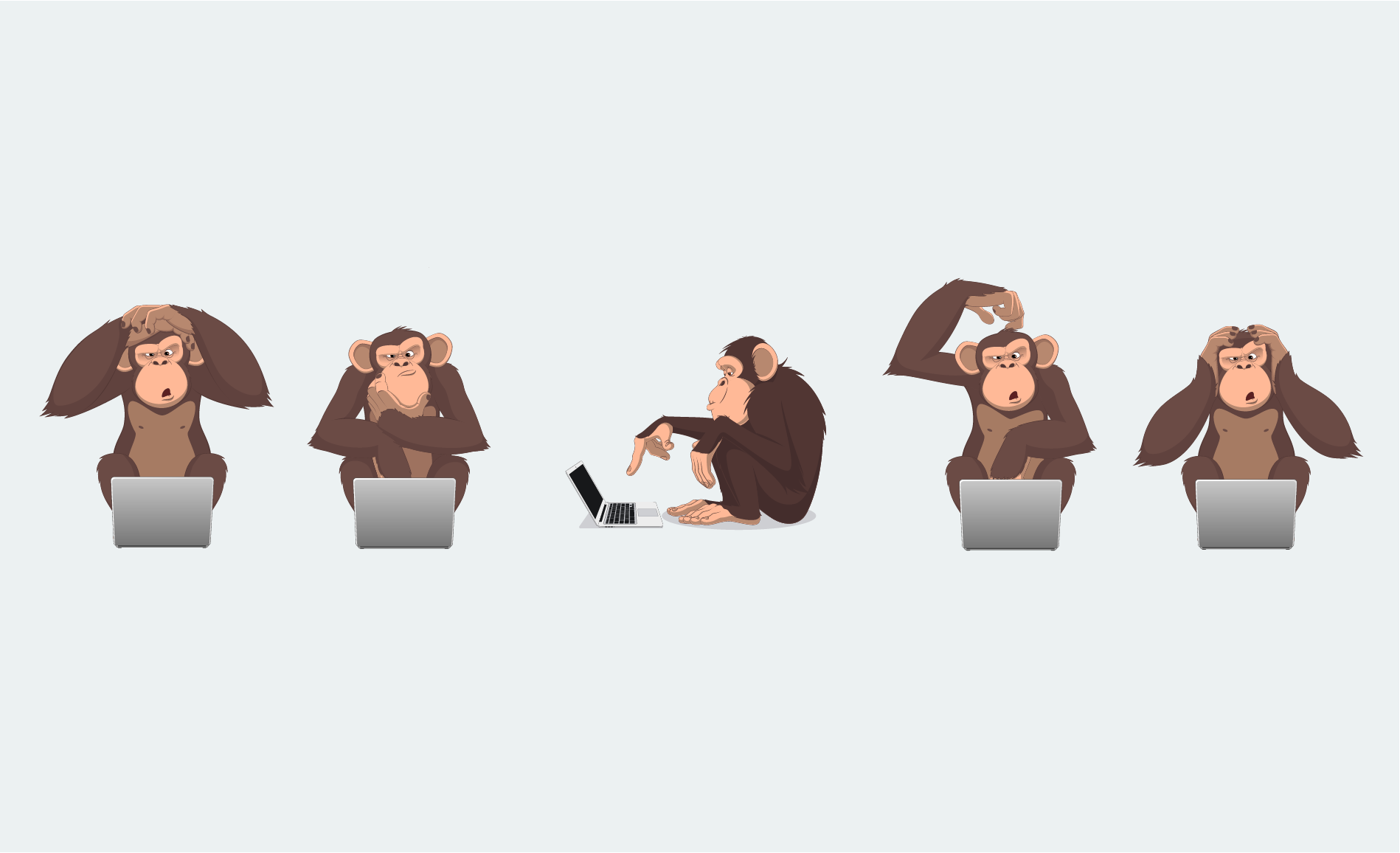 The Five Monkeys Experiment & Its Lessons for Your Organization