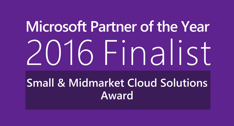 2016 Microsoft WPC Award