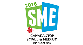 2018 Canada Top Small Medium Employers