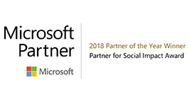 2018 Microsoft Partner for Social Impact