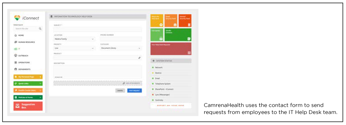 SharePoint Jumpstart Package Component 4 - Contact Form