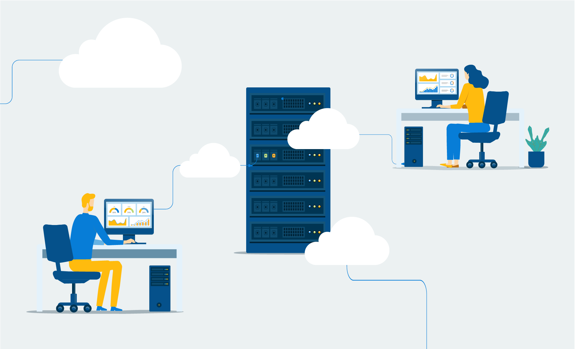What Is The Cloud? Top 3 Benefits of Moving to The Cloud